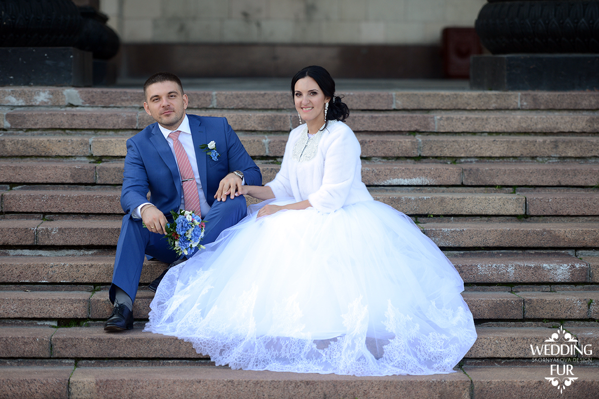 Свадебная шубка Skornyakova Design свадьба