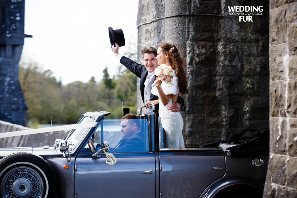 Свадьба за границей, свадьба в Европе, свадьба в замке