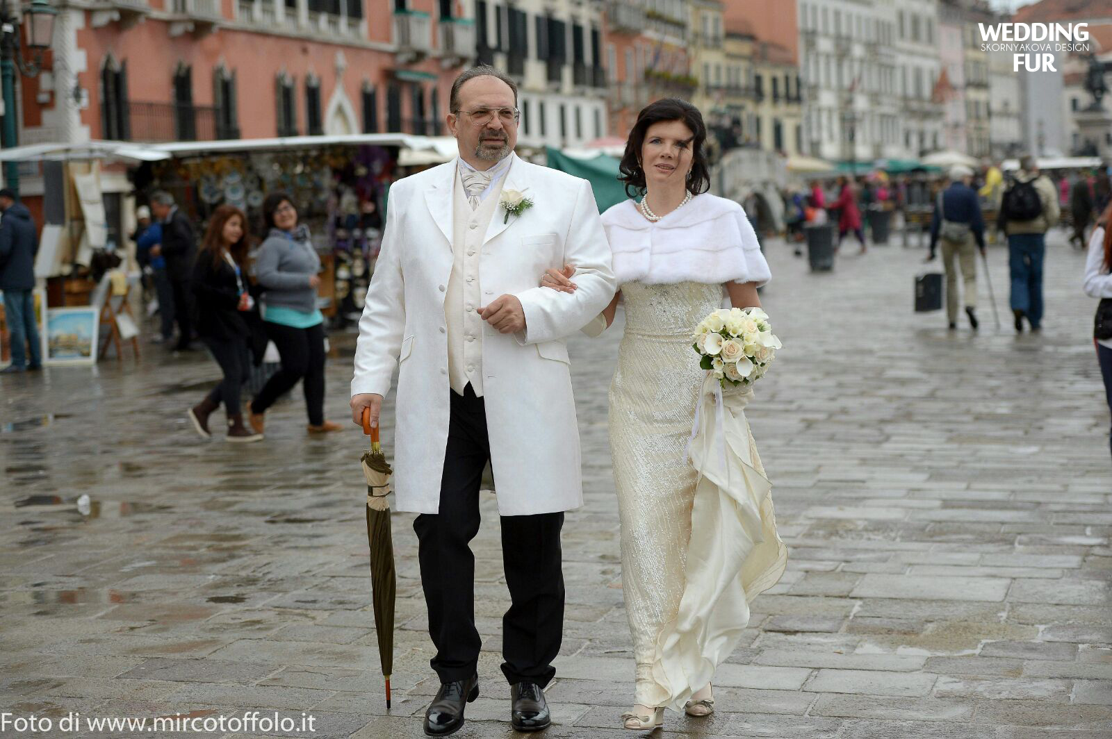 Норковая накидка на свадебное платье купить