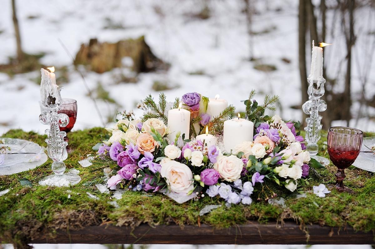 Свадьба в русском народном стиле: свадебный декор