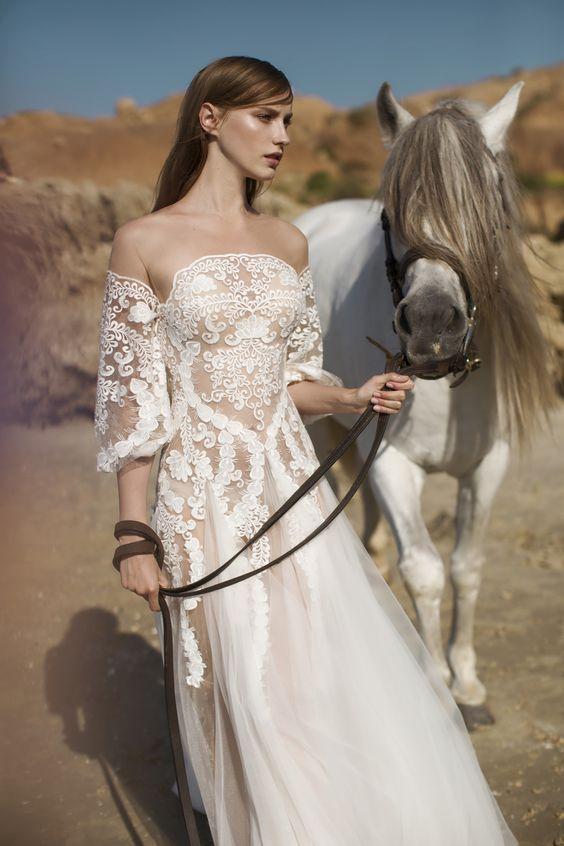 Свадебное платье Hurit Hen