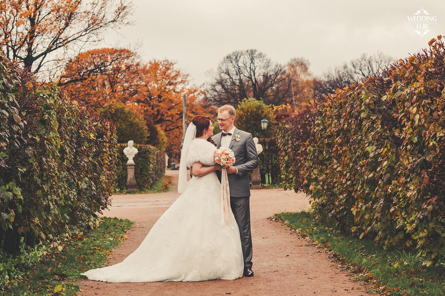 Свадебные меховые накидки для невесты