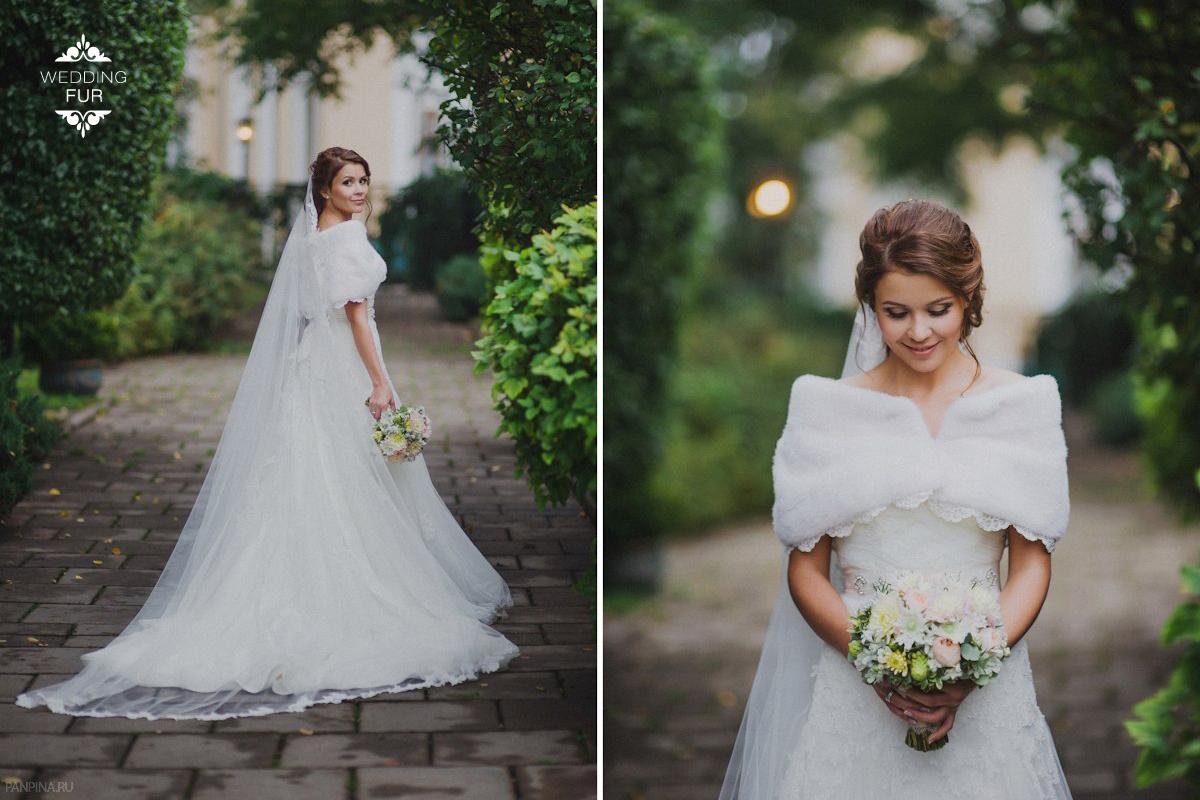Норковая накидка свадебные летние накидки