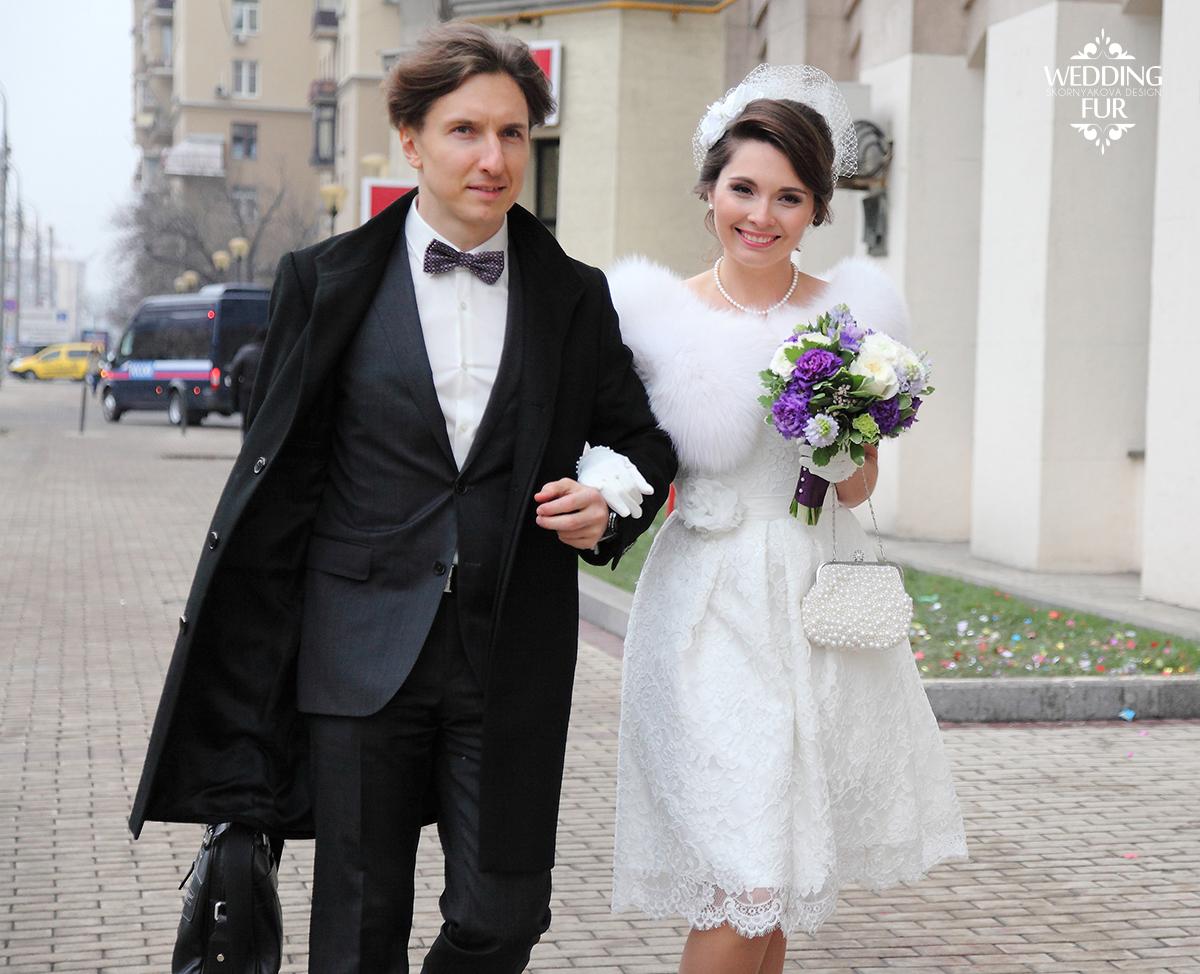 Свадебное платье ретро образ невесты