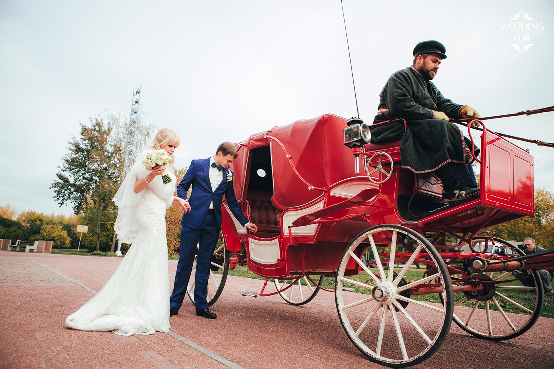 Свадебная накидка из меха