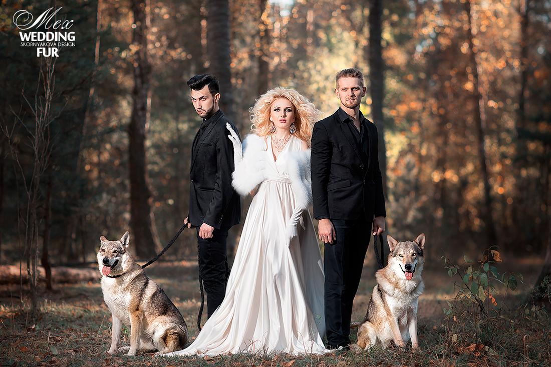Российские дизайнеры Wedding Fur Скорнякова Ольга