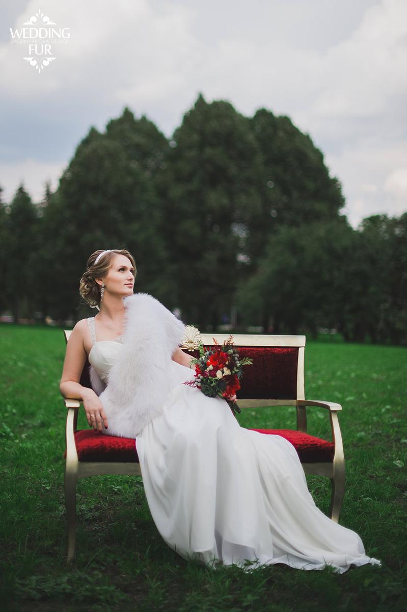Свадебная накидка напрокат Москва