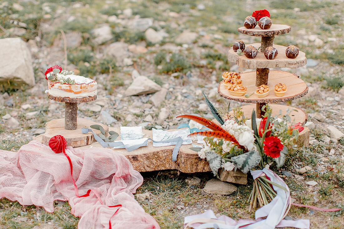 Свадебный декор в стиле бохо шик