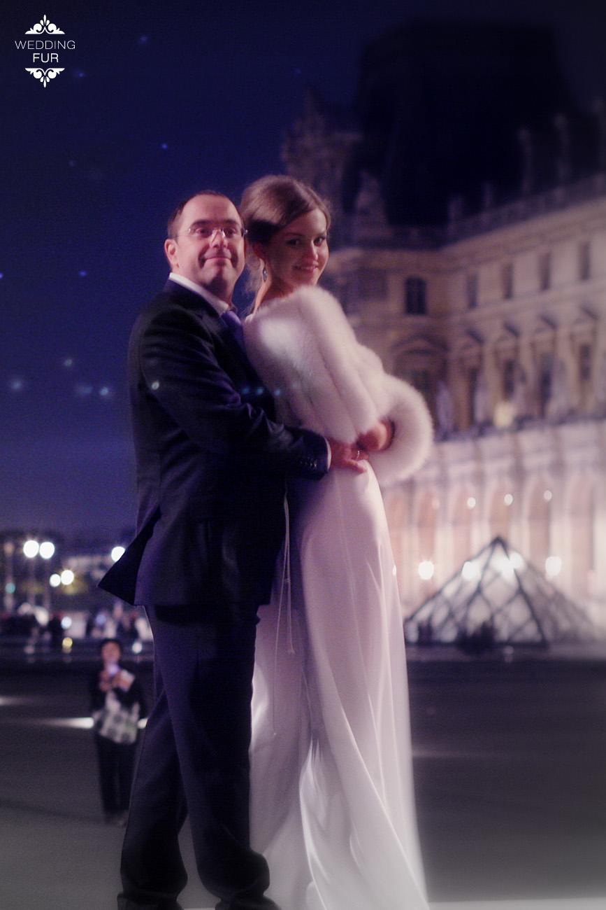 Накидка на свадебное платье купить