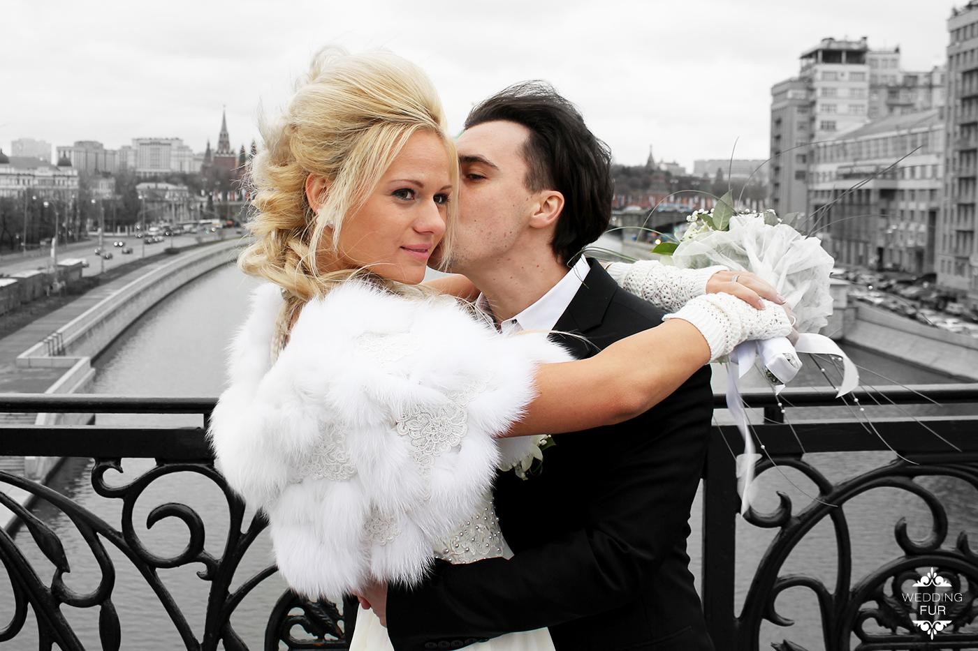 Свадебная накидка напрокат на платье