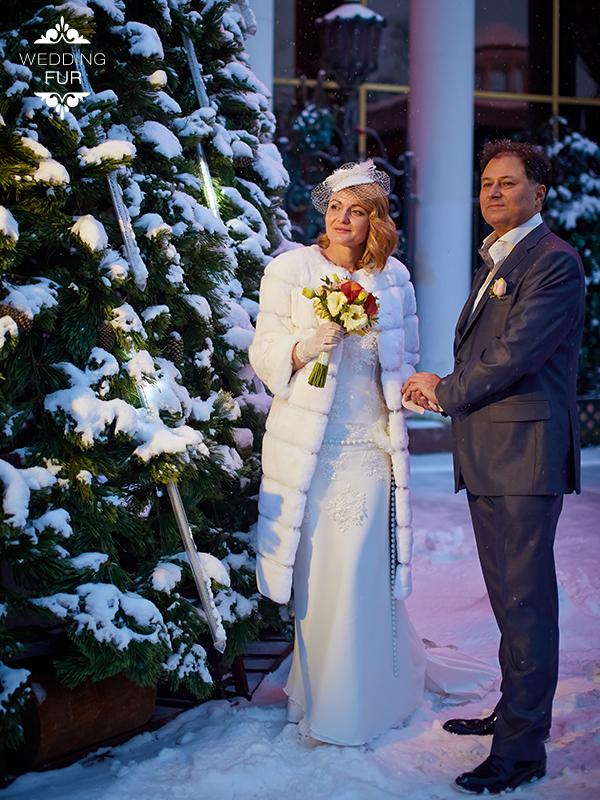Длинная шуба напрокат для свадьбы