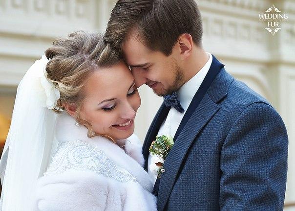 Зимняя свадьба свадебная шубка для невесты