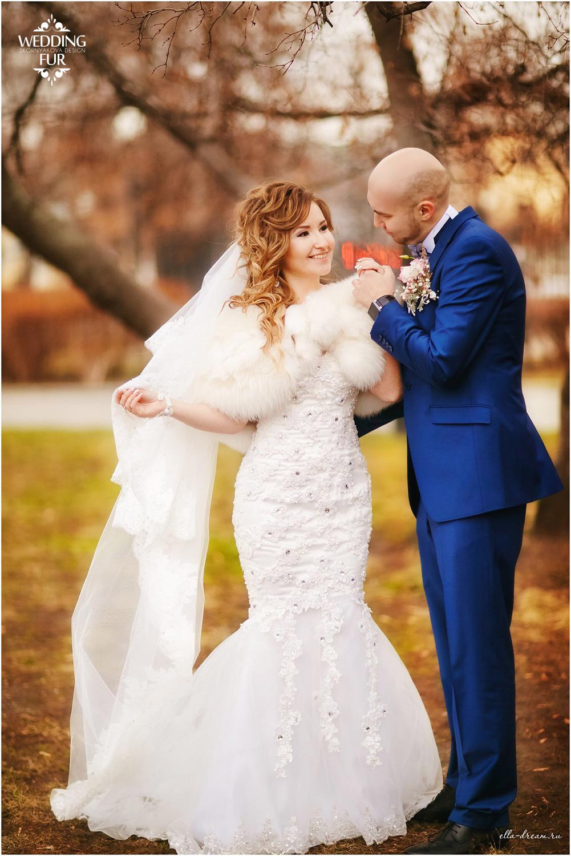 Шубки и накидки для свадьбы