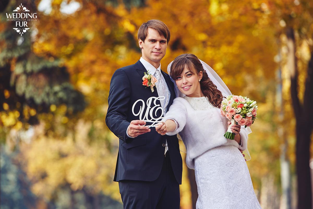 Свадебные норковые шубки напрокат
