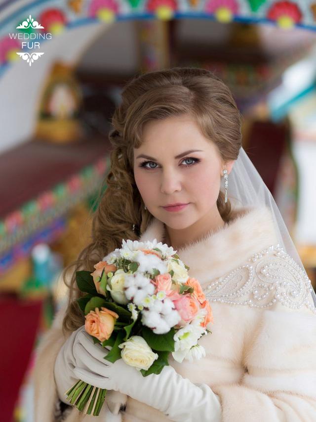 Свадебные шубки и накидки