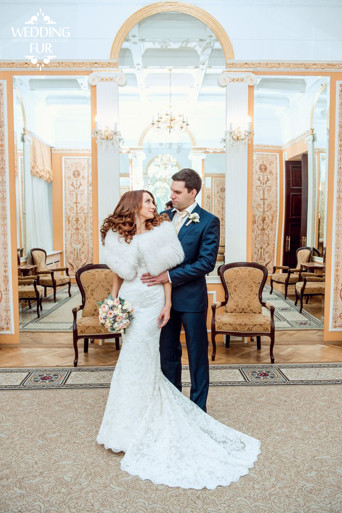 Свадебные накидки для невесты купить