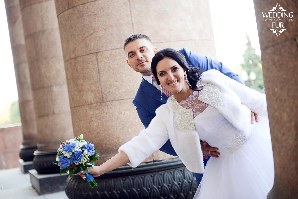 Свадебное платье принцесса свадебная шубка