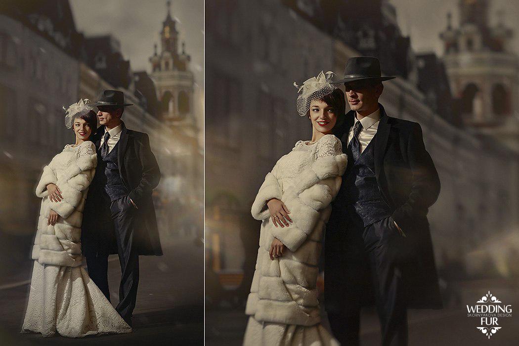 Длинна шуба напрокат для свадьбы