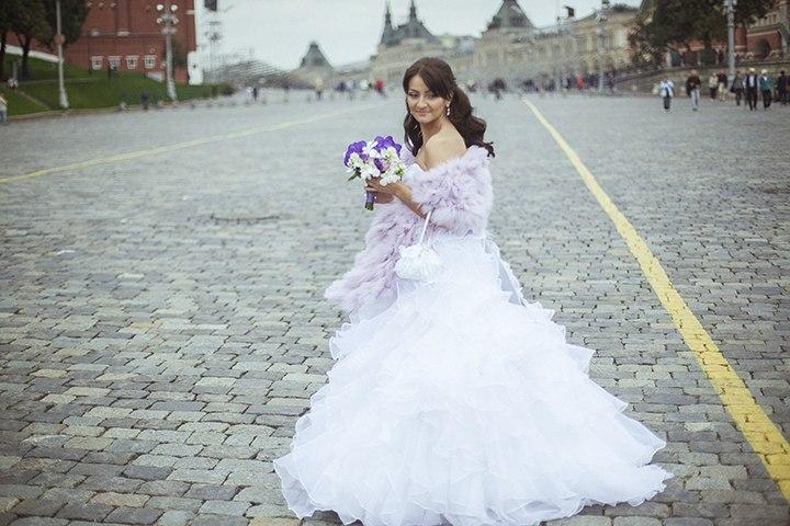 Свадебные накидки и палантины