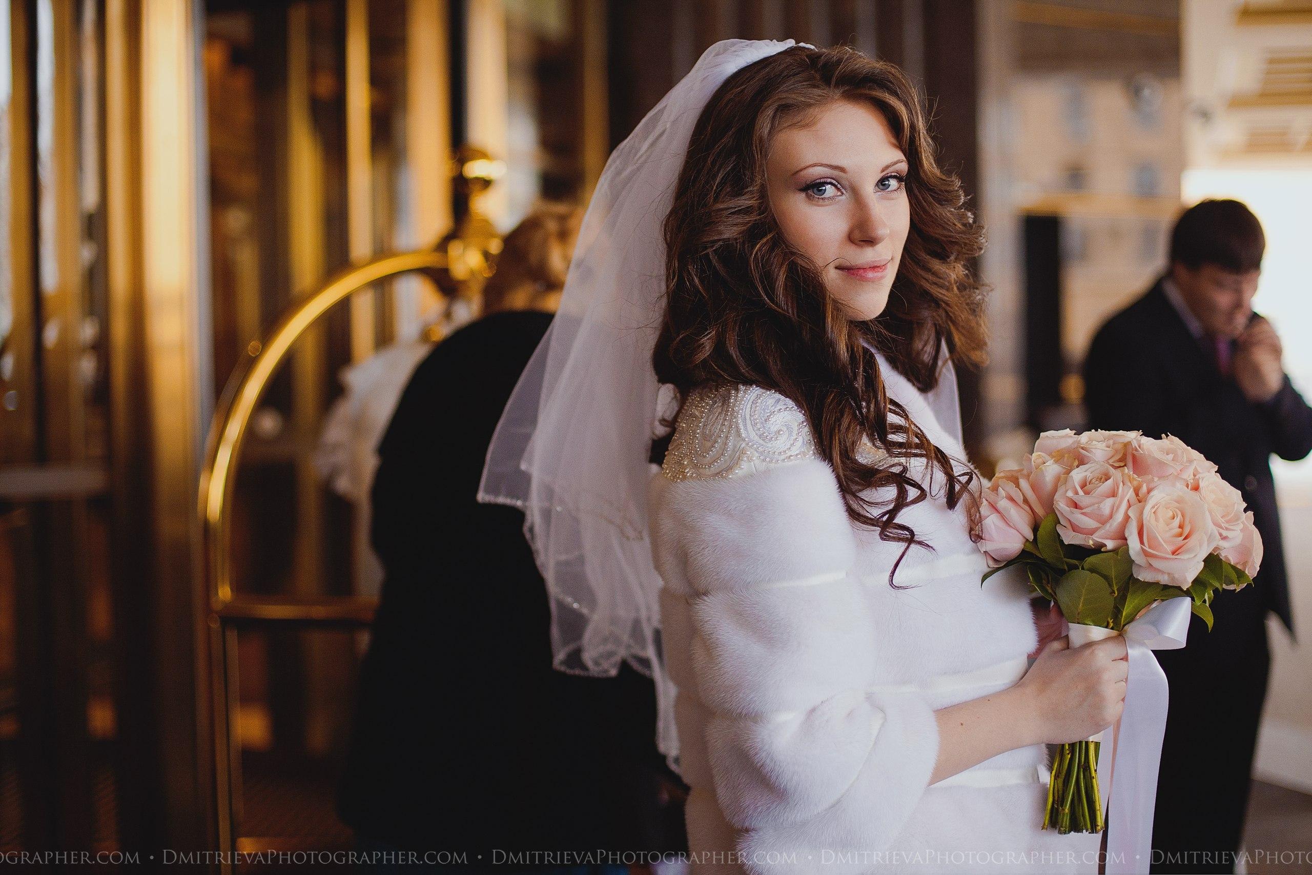 Свадебная шубка норковая