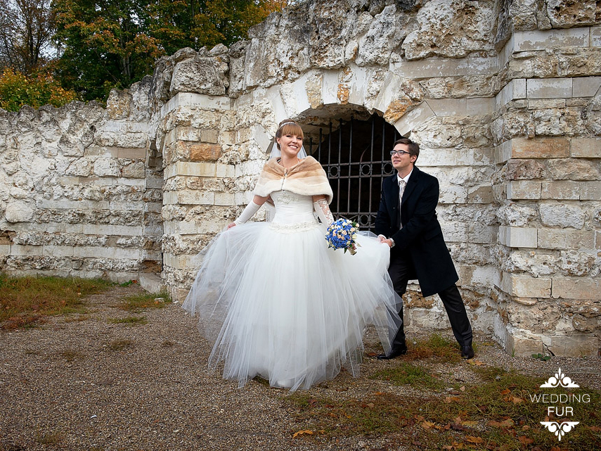 Накидка на свадебное платье напрокат
