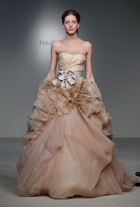 Свадебное платье Вера Вонг