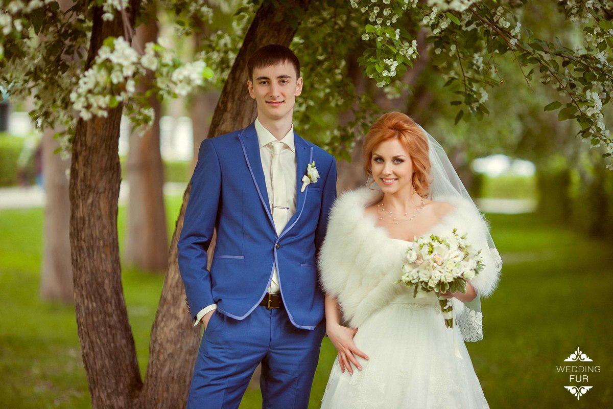 Свадебные меховые накидки купить летние