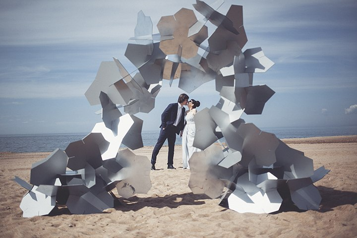Необычные свадьбы идеи в стиле футуризм futurism