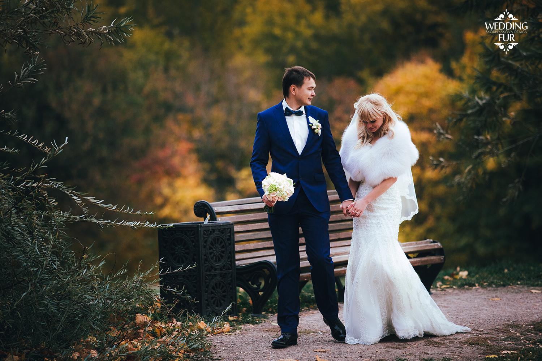 Накидки для невесты из меха