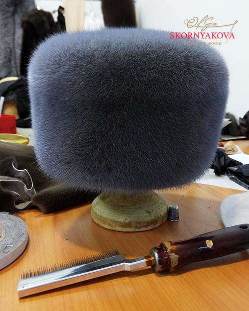 Норковые шапки пошив