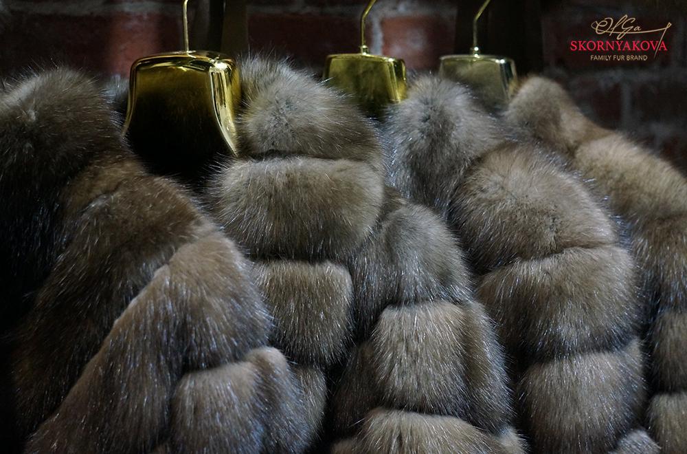 Шуба из соболя в Москве